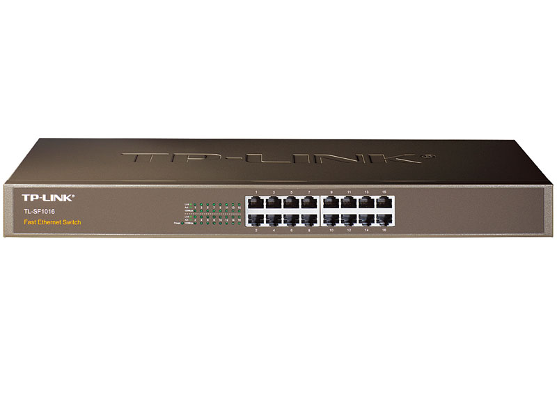 TL-SG1016D: 16-Port Gigabit Desktop/Rackmount Switch