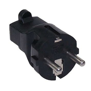 A-77515RMF: Schuko CEE 7/7 (Euro) male to 5-15R Female power adapter
