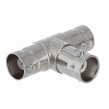 A-BBF2FT: BNC female/female/female tee adapter