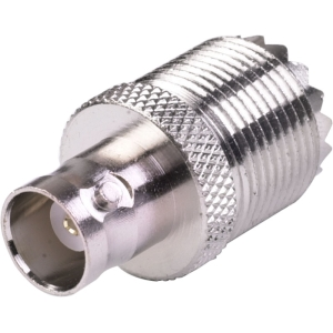A-BUFF: BNC female to UHF female adapter