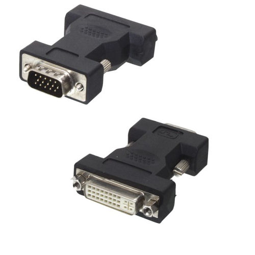A-DVFM: DVI-A female to HD15 VGA male Adapter