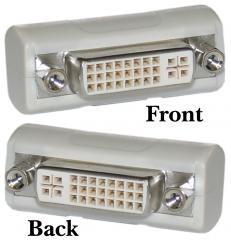 A-DVI-FF: Adapter DVI female to female
