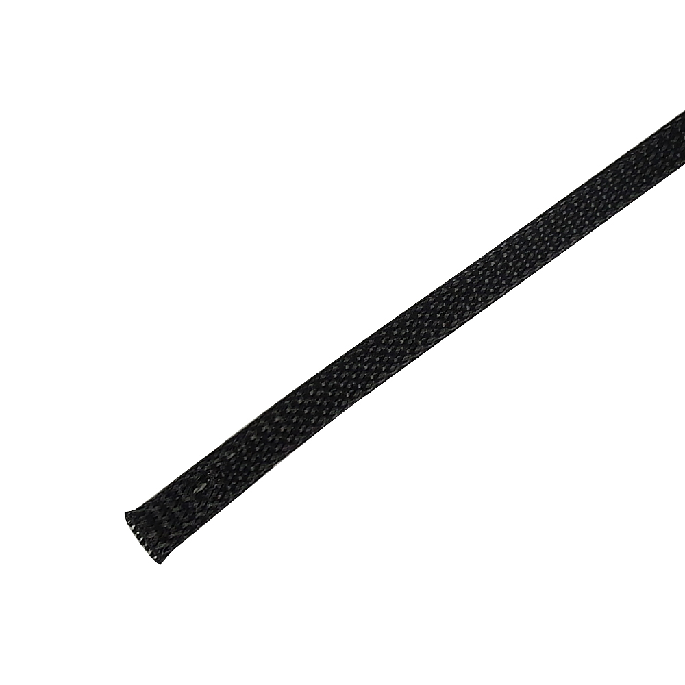 BS-PT038-500BK: 500ft 3/8 inch Sleeving Black
