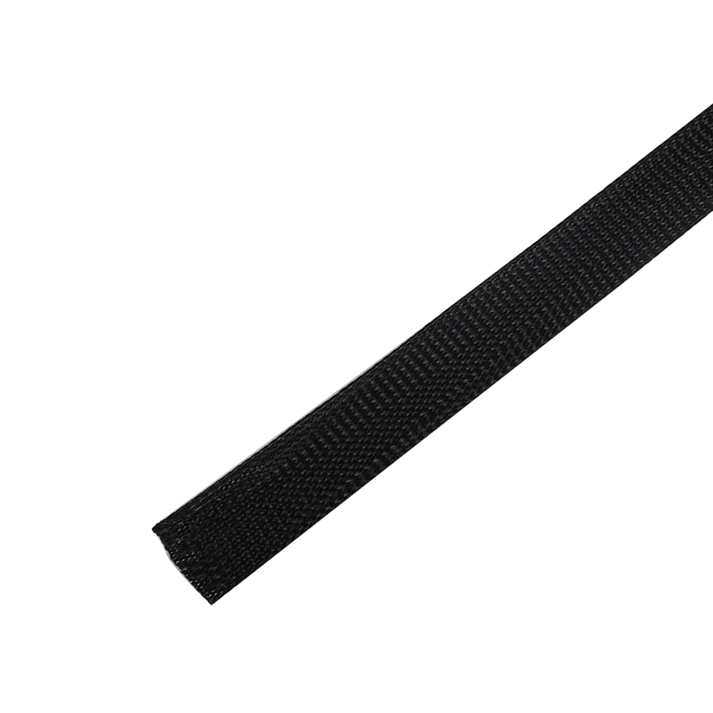 BS-PT125-250BK: 250ft 1 1/4 inch Sleeving Black