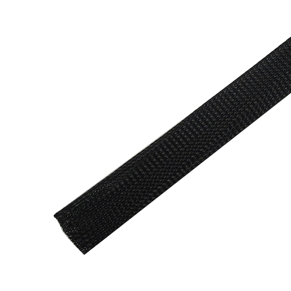 BS-PT175-200BK: 200ft 1 3/4 inch Sleeving Black