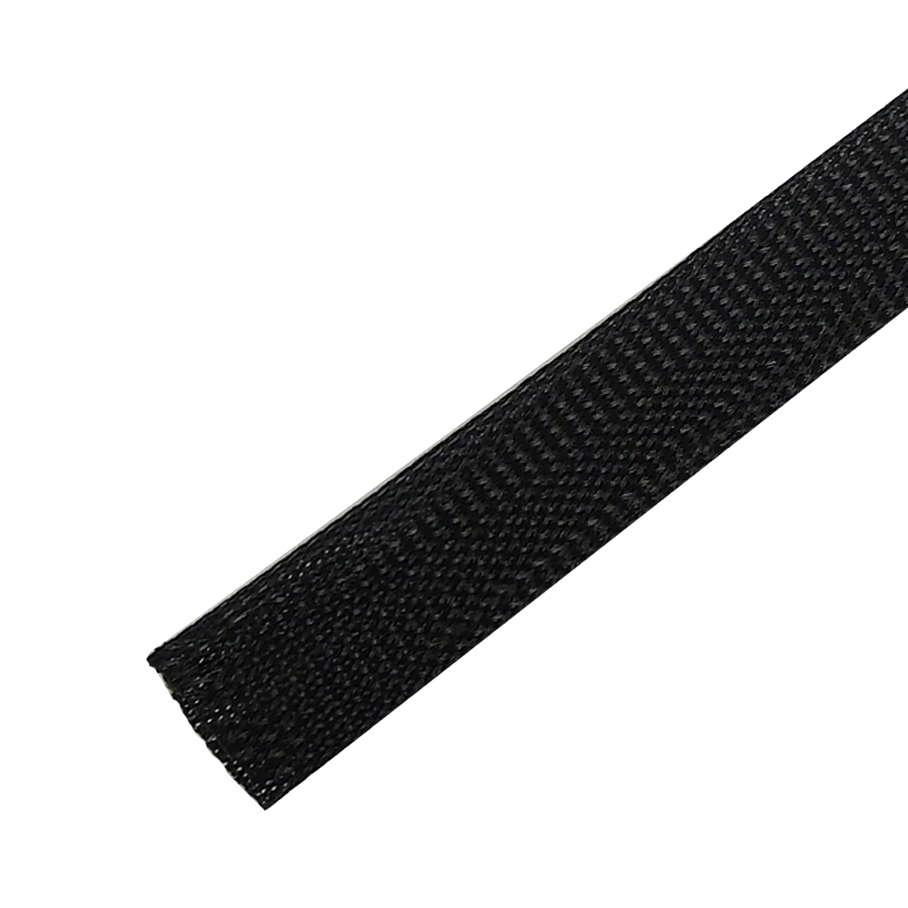 BS-PT250-200BK: 200ft 2 1/2 inch Sleeving Black
