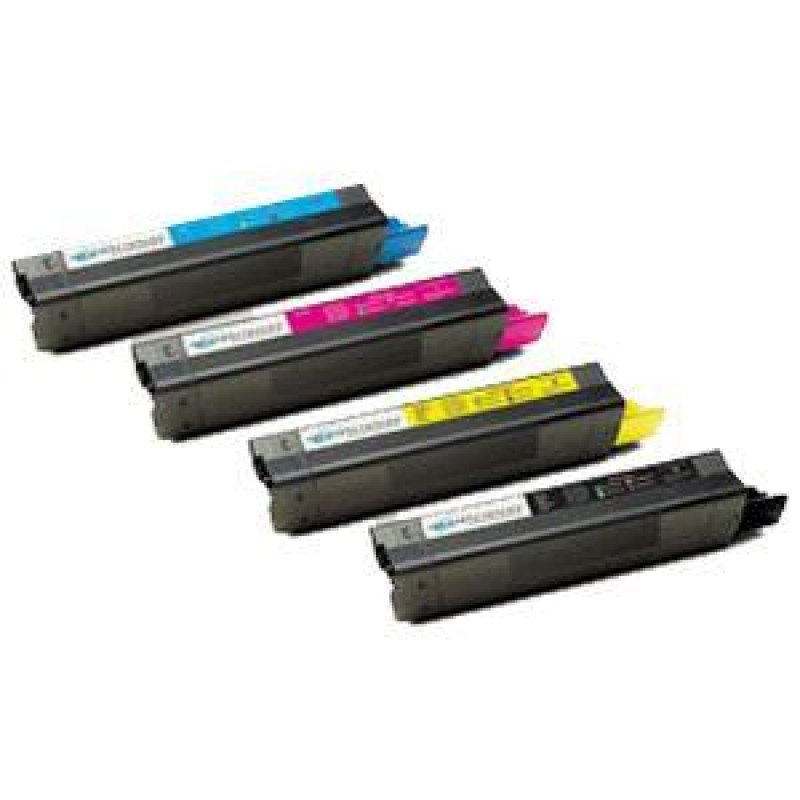 OKI C5100: Okidata Compatible Toner Cartridge Black/Cyan/Yellow/Magenta