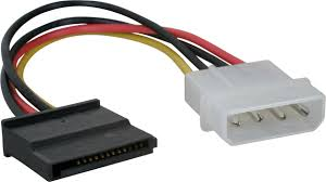 HF-CAB-SATA-P03: Molex POWER to SATA POWER Cable