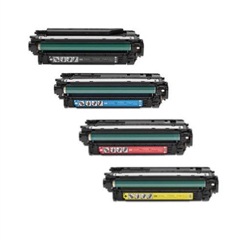 HP CE264X/CF031A/CF032A/CF033A: Remanufactured TONER CARTRIDGE BLACK/CYAN/YELLOW/MAGENTA