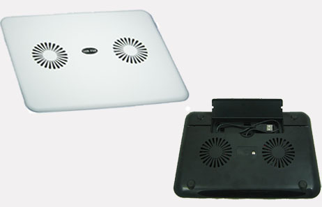 HF-COOLER-CP001: 2 coolingFan Notebook CoolingPad