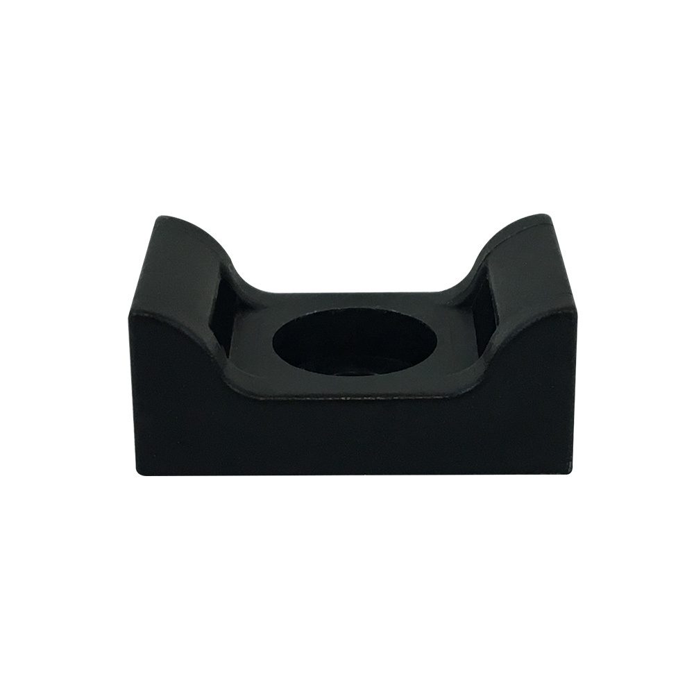 CT-SM04-BK: 100pk Cable Tie Screw Mount Base 25.4x16.2x10.8mm - Black