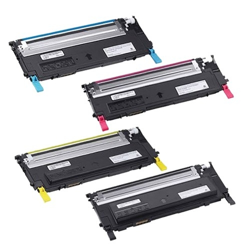 Dell 1230: Compatible Toner Cartridge Black/Cyan/Magenta/Yellow