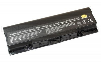 Dell-1520-9 cell: Laptop Battery 9-cell for Dell Inspiron 1520 1521 1720 1721 Vostro 1500 1700 fk890 gk476 gk479