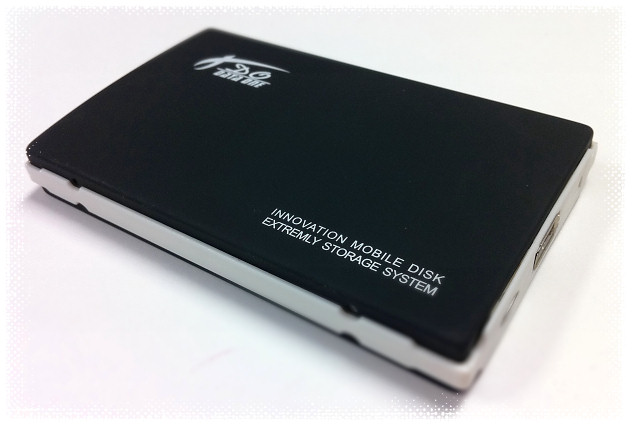 "HF-ENC-ST-2.5-A: 2.5"" SAT HDD to EXT USB Enclosure"