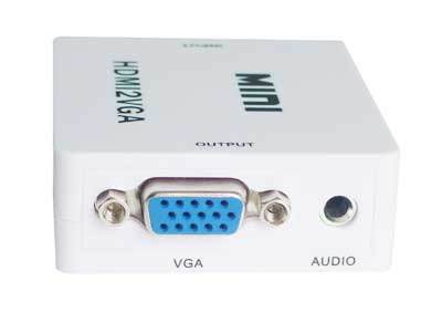 M630: Active HDMI to VGA+PC 3.5mm Audio Converter