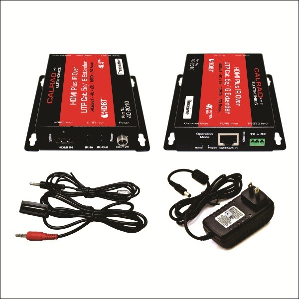 HE40704K: POE HDBaseT v2.0 HDMI 4K x 2K 60hz POC Standard Balun with IRRS232 over Single CAT5e/6 Cable