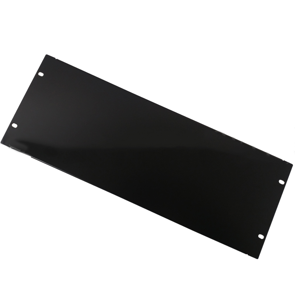 HF-BFP-4U: Blank Filler Panels - Black 4U