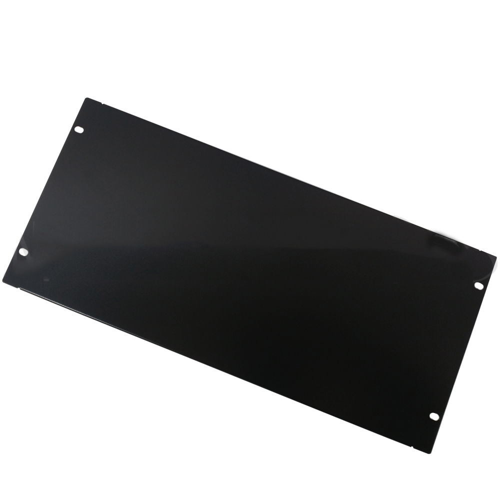 HF-BFP-5U: Blank Filler Panels - Black 5U