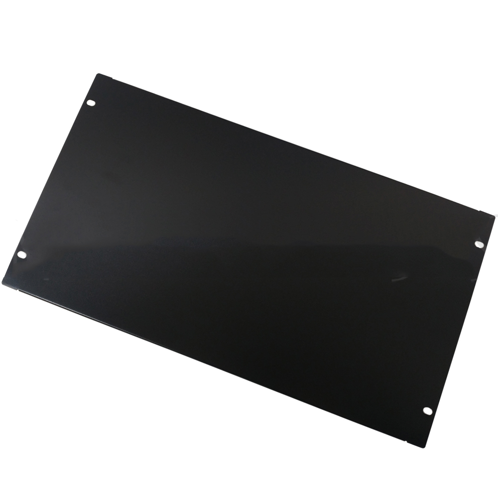 HF-BFP-6U: Blank Filler Panels - Black 6U