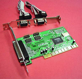HF-CARDPCI98352S1P: Syba PCI to 2 Serial and 1 Parallel Port
