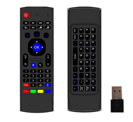 HF-K03: 3-in-1 2.4 G Air Mouse + Mini Wireless Keyboard & IR(Infrared Remote Control) w/IR learning function