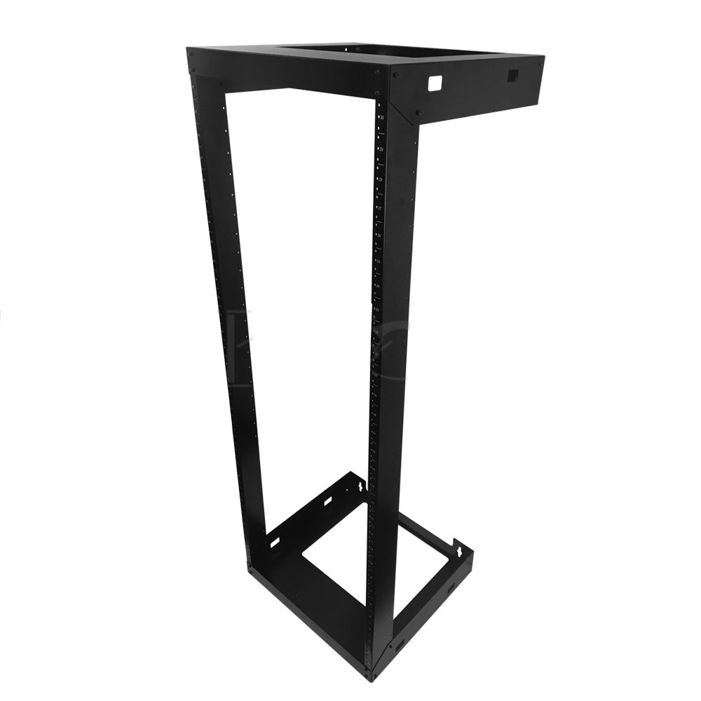 HF-OFW-30U: 19 inch Open Frame Wall Mount Rack - 18 inch Depth - 30U