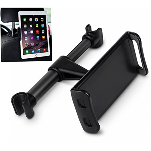 HF-RPH1: Headrest Tablet / Phone Car Mount Seat Tablet Holder Rear Pillow Stand for Cell phones/Tablets(4″-11″)
