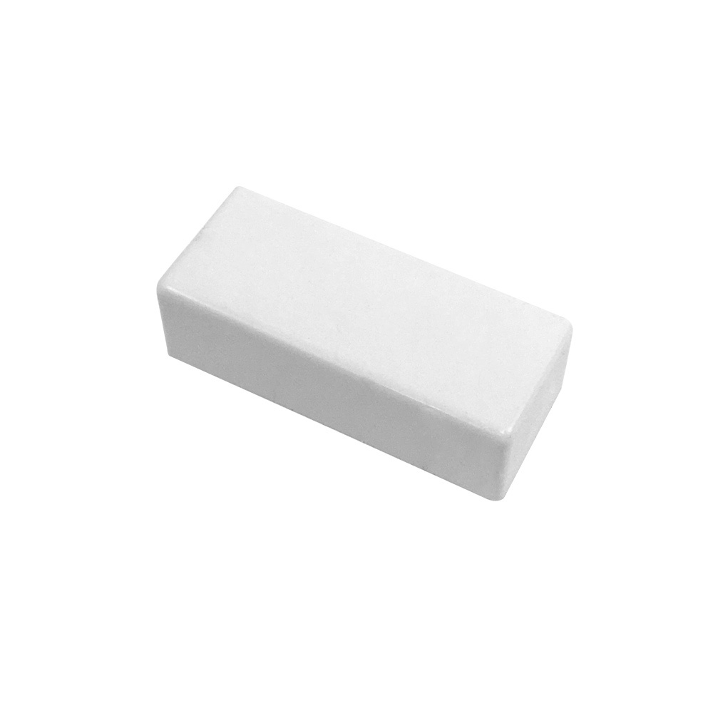 HF-RW-5020E-WH: End Cap for 50mm x 20mm Raceway - White