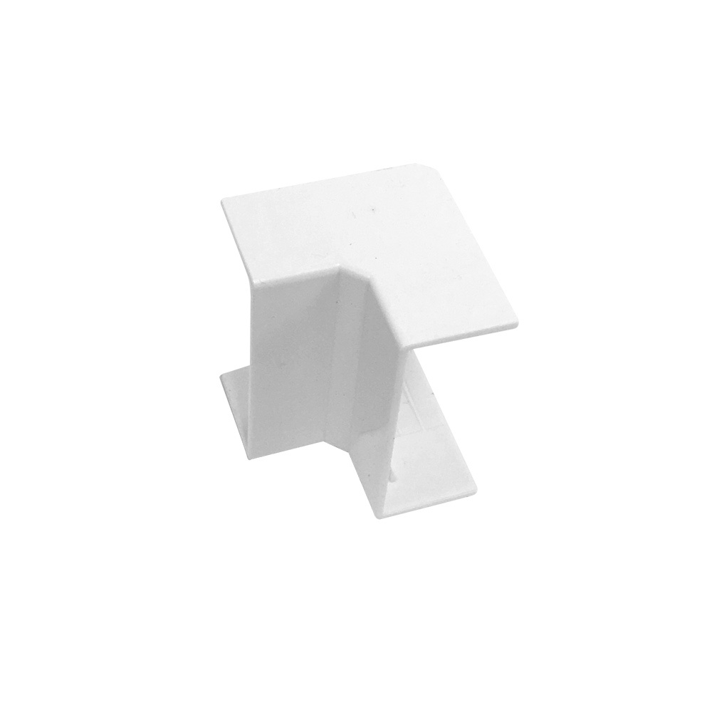 HF-RW-5020N-WH: Inside Corner for 50mm x 20mm Raceway - White