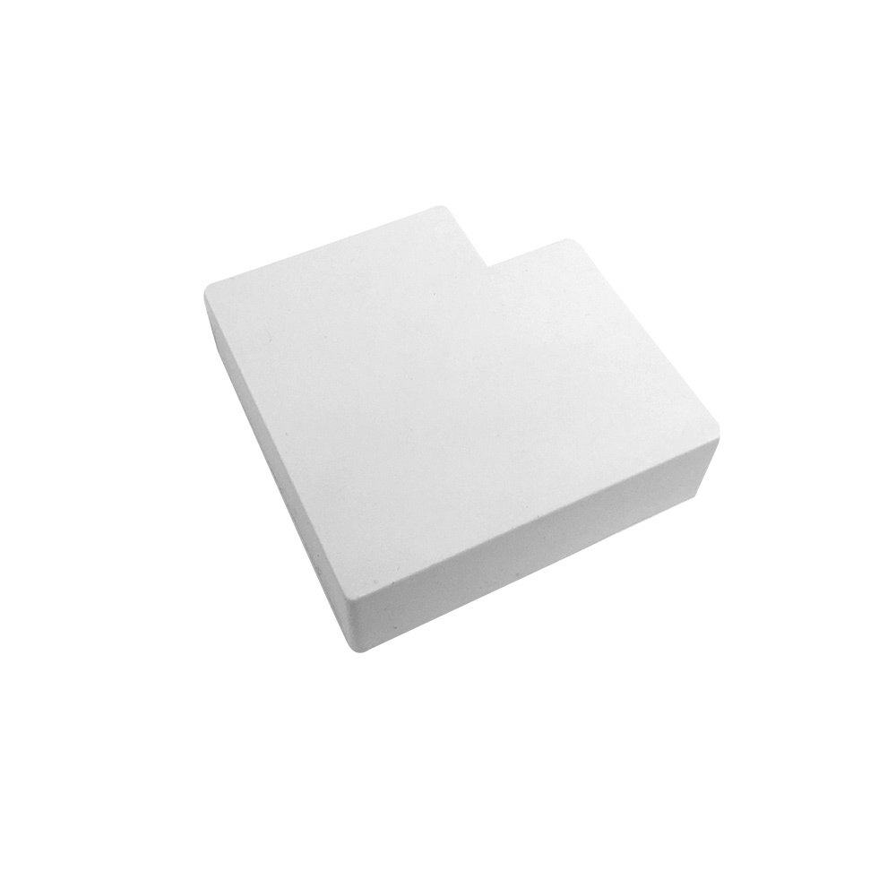HF-RW-5020R-WH: Right Angle for 50mm x 20mm Raceway - White