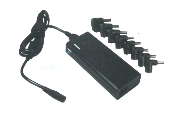 HF-UPA-AU: 90W 4.5A Universal AUTO Sensitive AC Adapter 1USB