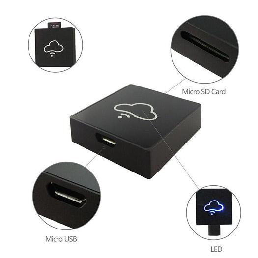 HF-WIFIRD: Wifi Smart Card Reader Mobile Phone Extend Disk