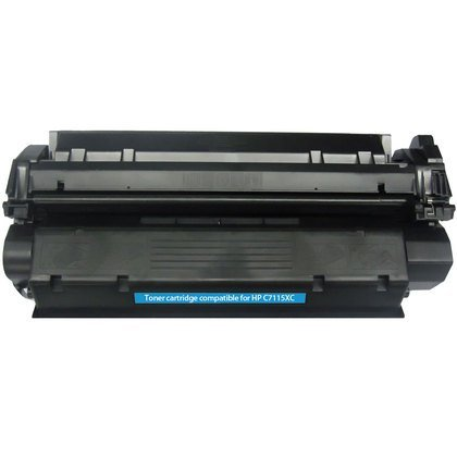 HP C7115X: Toner Cartridge C7115X (15X) Compatible Remanufactured for HP C7115X Black