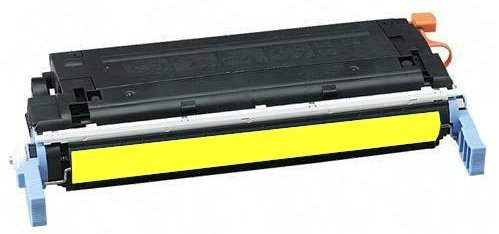 HP C9722A: HP C9722A Remanufactured Yellow Toner Cartridge