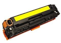 HP CB542A: HP CB542A Yellow Compatible Toner Cartridge
