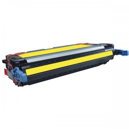 HP Q6472A: HP Q6472A Remanufactured Yellow Toner Cartridge