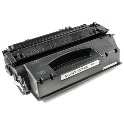 HP Q7553X: 1 Pack New Compatible HP Q7553X (53X) Toner Cartridge-Black