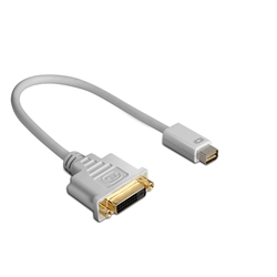 Mini DVI M to DVI F, 15 cm cable adapter