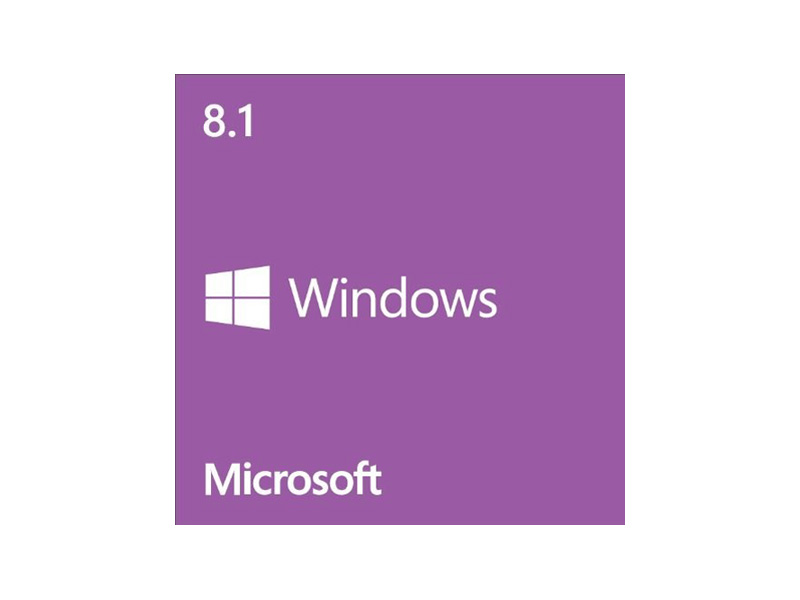 WIN8.1-HOME-64BIT: Microsoft WN7-00615 Windows 8.1 64-bit - OEM