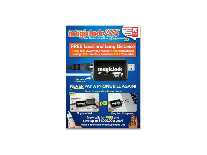Magicjack-Plus: MagicJack Plus VOIP Phone Adapter 2014