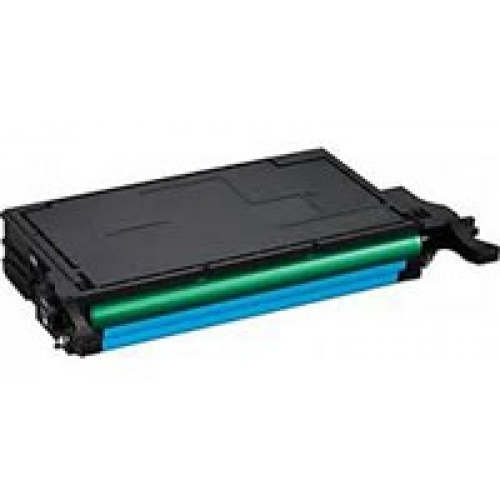 Samsung 508C: High Yield Cyan Toner Cartridge CLT-C508L Compatible Remanufactured for Samsung CLP-620 Cyan