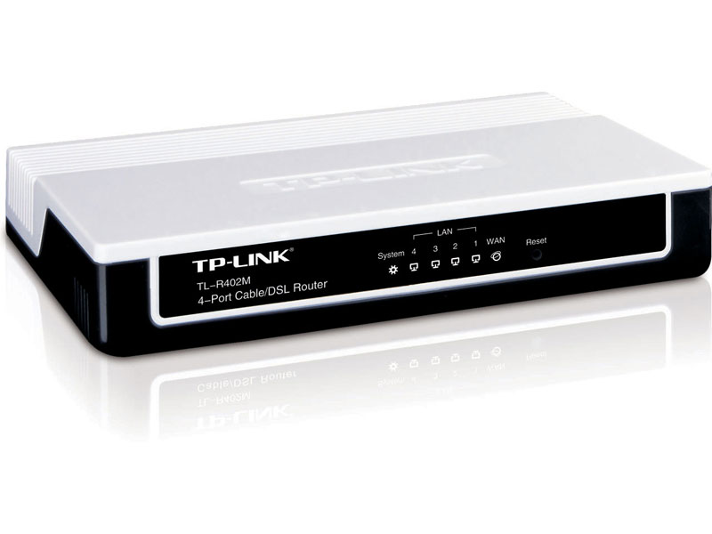 TL-R402M: 4-Port Cable/DSL Router