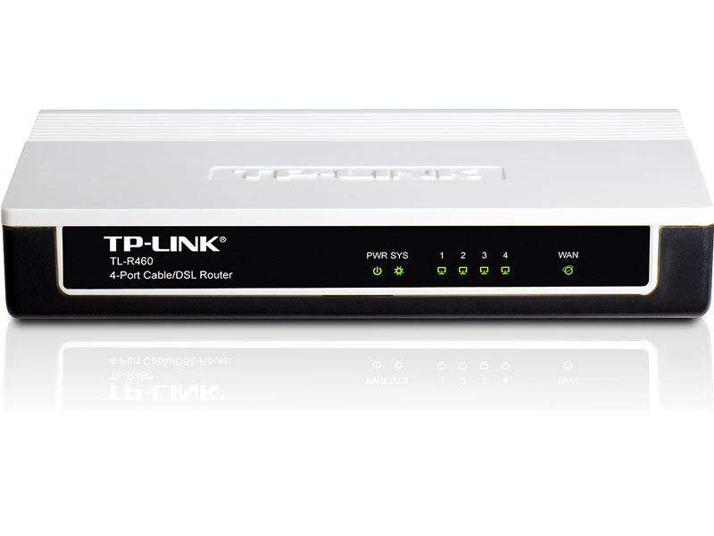 TL-R460: 4-Port Cable/DSL Router
