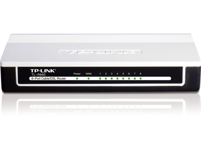 TL-R860: 8-Port Cable/DSL Router