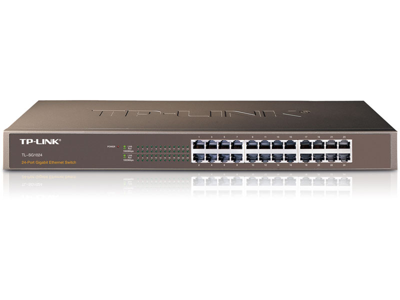 TL-SG1024D: 24-Port Gigabit Desktop/Rackmount Switch