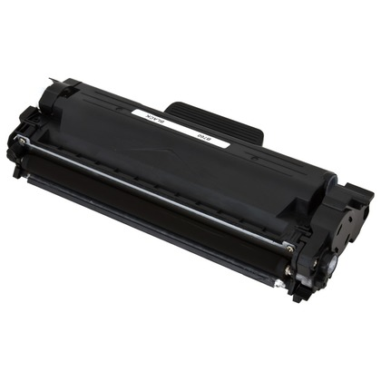 Brother TN760: Compatible Toner Cartridge with Chips/Black