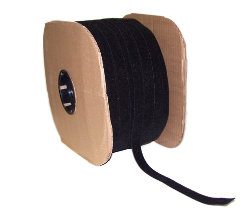 VL-BK75-600BK: 600ft 3/4 inch Rip-Tie WrapStrap - Black