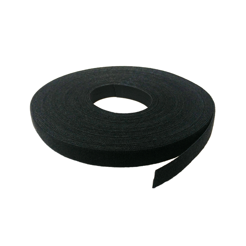 VL-RL75-75BKFR: 75ft 3/4 inch Rip-Tie WrapStrap, Plenum Rated - Black