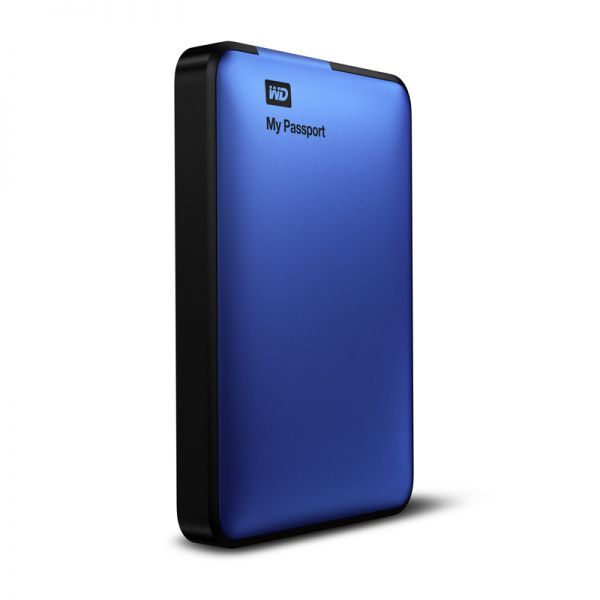 WDBBEP0010BBL: WD My Passport 2.5'' 1TB USB 3.0 Hard Drive (Blue)
