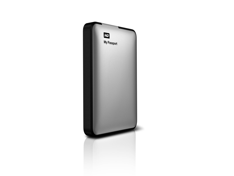 WDBZYL0020BSL:WD My Passport 2TB Portable Hard Drive (Silver)